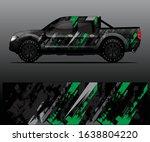 truck decal graphic wrap vector ...   Shutterstock .eps vector #1638804220