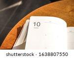 diary month 2020 calander... | Shutterstock . vector #1638807550