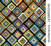 geometric background with... | Shutterstock . vector #1638850246
