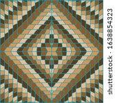 brown geometrical repeating... | Shutterstock . vector #1638854323