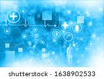 health care and science icon...   Shutterstock . vector #1638902533