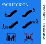 facility icon | Shutterstock .eps vector #163892066