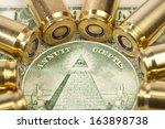 rising cost of ammunition | Shutterstock . vector #163898738
