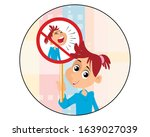 vector illustration of a girl... | Shutterstock .eps vector #1639027039