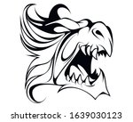 vector illustration of a dragon'... | Shutterstock .eps vector #1639030123