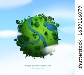 World Environment Day. Earth...