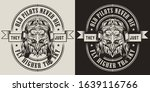 vintage military animal... | Shutterstock .eps vector #1639116766