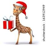 giraffe | Shutterstock . vector #163912949