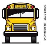school bus | Shutterstock .eps vector #163915508