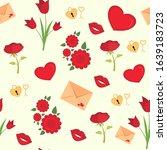 vector seamless pattern for... | Shutterstock .eps vector #1639183723