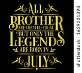 all brother are created equal... | Shutterstock .eps vector #1639231393