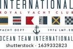 nautical design. sailor vector...   Shutterstock .eps vector #1639332823