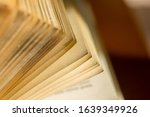 old book library antic detail... | Shutterstock . vector #1639349926