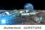 Lunar Base  Spatial Outpost....