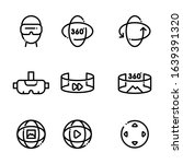 set of virtual reality icons....   Shutterstock .eps vector #1639391320