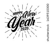 happy 2020 new year greeting... | Shutterstock .eps vector #1639510300