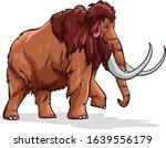 mammoth digital illustration...