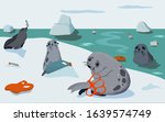 environmental problem of... | Shutterstock .eps vector #1639574749