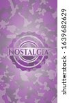 nostalgia pink on camo pattern. ...   Shutterstock .eps vector #1639682629