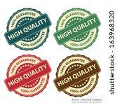 eps10 vector   colorful vintage ... | Shutterstock .eps vector #163968320