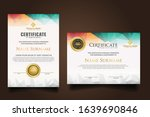 two set certificate template... | Shutterstock .eps vector #1639690846