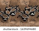 seamless vector snake animal... | Shutterstock .eps vector #1639694680