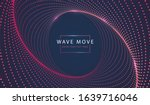abstract technology background... | Shutterstock .eps vector #1639716046
