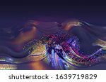abstract colorful wave...   Shutterstock . vector #1639719829