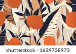 modern exotic jungle plants... | Shutterstock .eps vector #1639728973