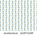 seamless floral pattern with... | Shutterstock .eps vector #163973189