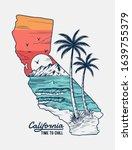 california vector illustration  ... | Shutterstock .eps vector #1639755379