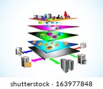 vector illustration of service... | Shutterstock .eps vector #163977848