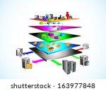 vector illustration of service... | Shutterstock .eps vector #163977848