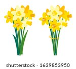 Vector Set Of Floral...