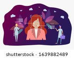 emotion detection technology ... | Shutterstock .eps vector #1639882489
