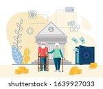 characters for retirement plan... | Shutterstock .eps vector #1639927033