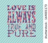 love design over lineal... | Shutterstock .eps vector #164001173