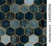 Marble Hexagon Seamless Texture ...