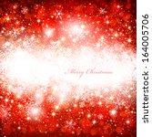 christmas red background | Shutterstock .eps vector #164005706