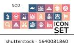 modern simple set of god vector ... | Shutterstock .eps vector #1640081860