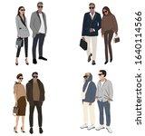 vector fashion illustration of...   Shutterstock .eps vector #1640114566