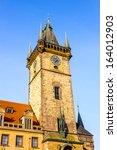 astonimic clock tower ... | Shutterstock . vector #164012903
