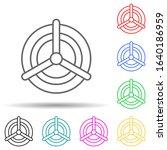 valve multi color style icon....