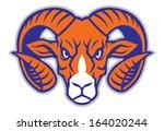 ram head mascot   Shutterstock .eps vector #164020244