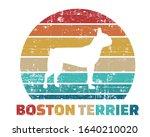 Boston Terrier Silhouette...