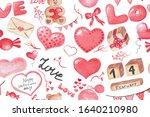 happy valentine's day...   Shutterstock . vector #1640210980