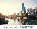 A View Of The Yarra River ...