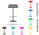 bar stool multi color style...