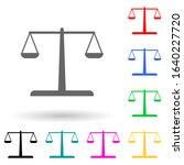 libra multi color style icon....