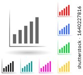 ascending chart multi color...